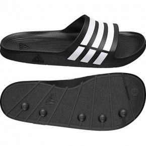 Adidas Duramo Slide schwarz / 47