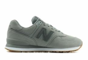 New Balance ML574 NFD Sneaker Herren grau 43 Velourleder