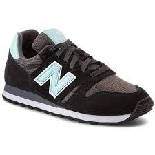 New Balance WL373 Sneaker für Damen schwarz / 38 / Velourleder