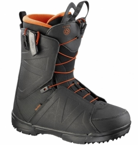 Salomon Faction Snowboardboot Herren schwarz Gr. 26.5