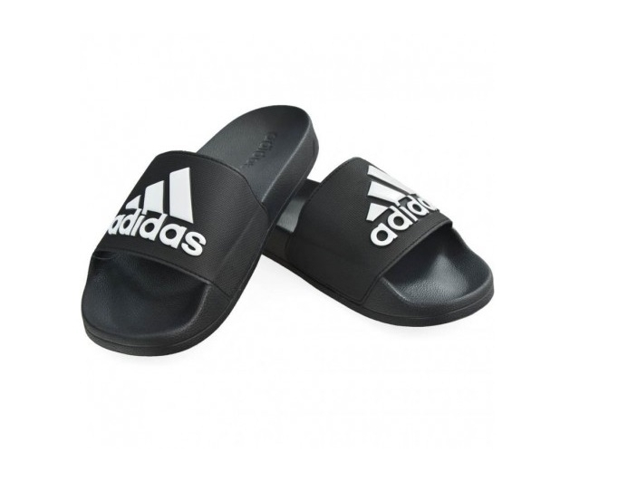 Adidas Adilette Shower 38 Synthetik schwarz weiß