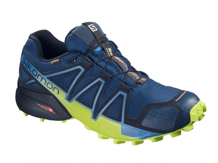 half off 45bb5 e6167 Salomon Speedcross 4 GTX Herren 45 1/3 / blau-grün